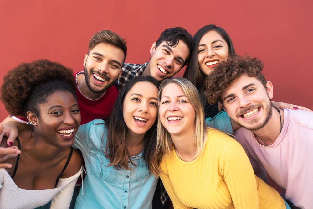 7 Teens - Group Photo