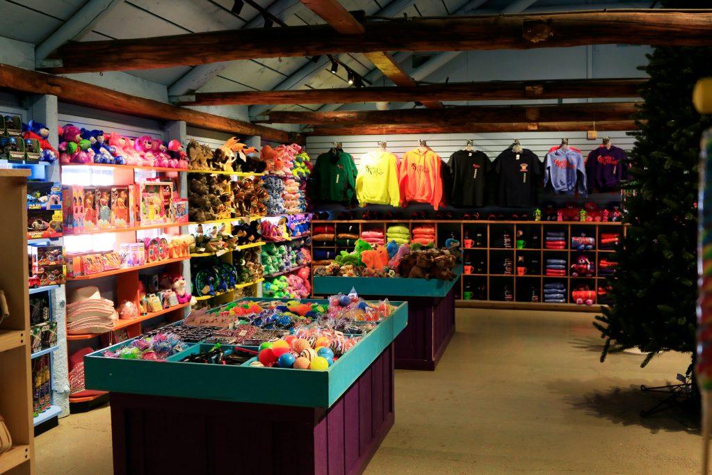 Santa's Village gift shop